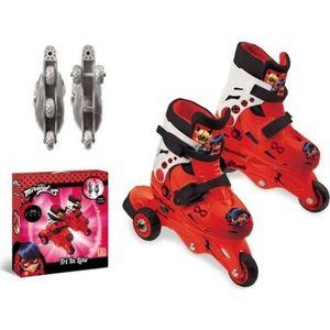 PATIN - QUAD MIRACULOUS - Mondo - Rollers 3 roues évolutifs