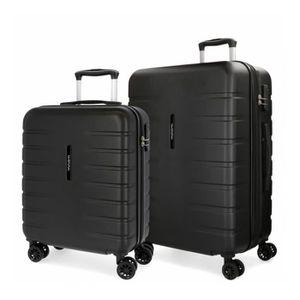 SET DE VALISES Lot de 2 valises rigides 55-69 Movom Turbo Noir -5