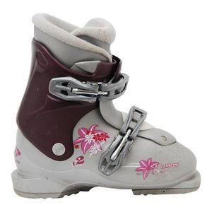 T3 Pas Chaussure Salomon Gris Prix T2 Violet Ski Occasion Junior 8XnPkN0wO