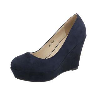 ESCARPIN Chaussures femme l'escarpin semelle à talon compen