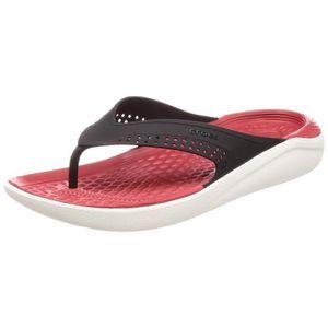 d6d4f9ad31ecc Crocs Women s Literide Flip PE8OQ Taille-US 13 Noir Noir - Achat ...