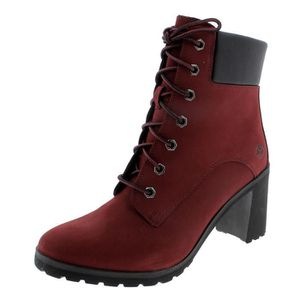 timberland rouge femme