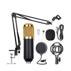 HAUT-PARLEUR - MICRO Microphone à Condensateur USB Enregistrement pour