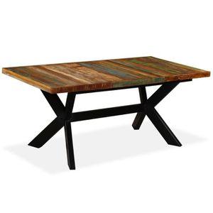 Table A Manger Bois Manguier Achat Vente Pas Cher