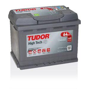 BATTERIE VÉHICULE Batterie HIGH TECH TUDOR TA640 12V 64Ah 640A 242 x