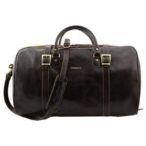 Tuscany Leather Berlin Sac de voyage en cuir - Petit modèle Miel LdFmv