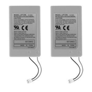BATTERIE DE CONSOLE 2pcs piles rechargeables pour manette sans fil PS3