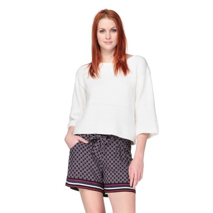 NEW LOOK Pull Blanc Femme