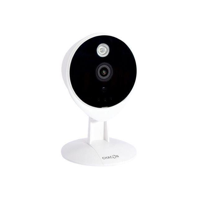 CHACON 34546 Caméra de surveillance connectée IP Wi-Fi à usage intérieur