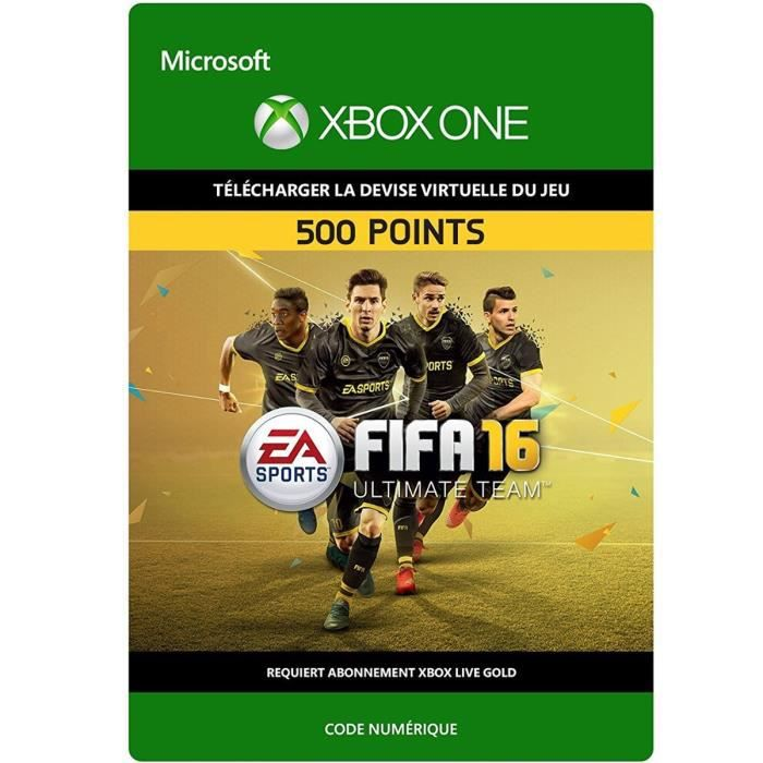 DLC FIFA 16 Ultimate Team: 500 Points pour Xbox One
