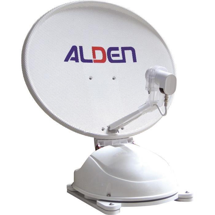 ALDEN Antenne Satellite Automatique AS2 80 Démodulateur Satmatic-HD Fransat