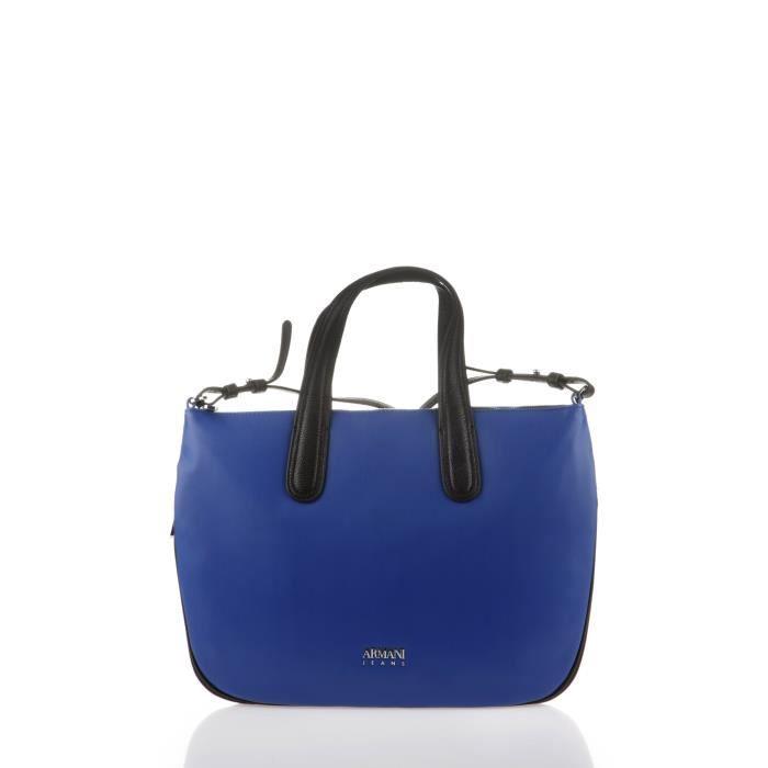ARMANI JEANS - Sac à Main Et Bandoulière Bleu et Noir - Femme Bleu ... 376e20853c0