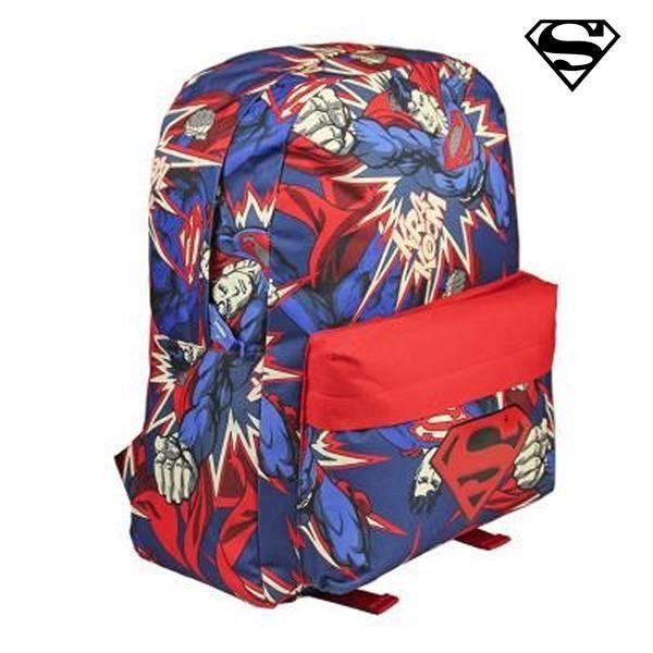 Cartable bleu et rouge Superman original - Sac à dos pour enfant pas cher ac51b638ed8