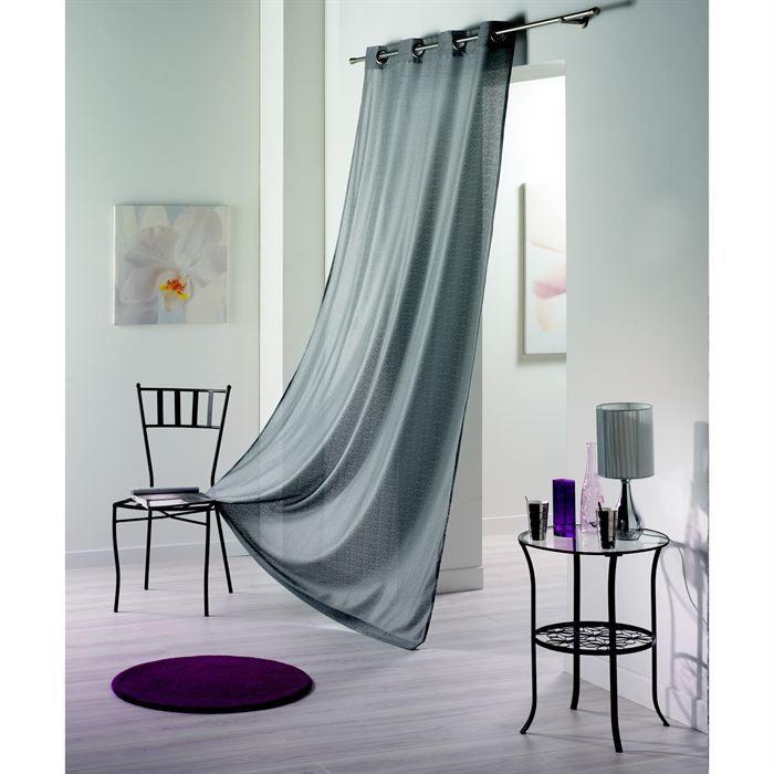 rideau voilage resille achat vente pas cher. Black Bedroom Furniture Sets. Home Design Ideas