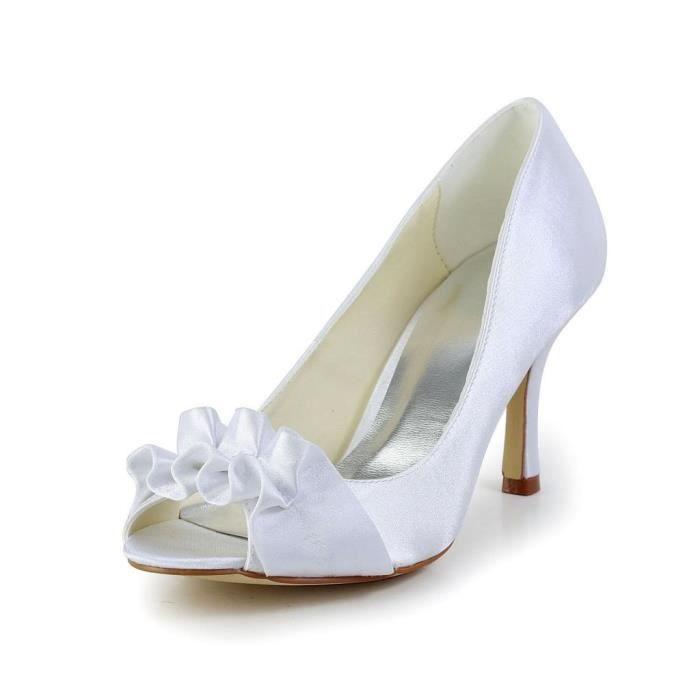 Jia Jia Wedding A31B26 chaussures de mariée mariage Escarpins pour femme