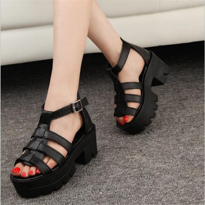 Sandales Femmes 2017 été Qualité Supérieure Extravagant Sandale Respirant Classique Chaussure Plus De Couleur Grande Taille 35-39