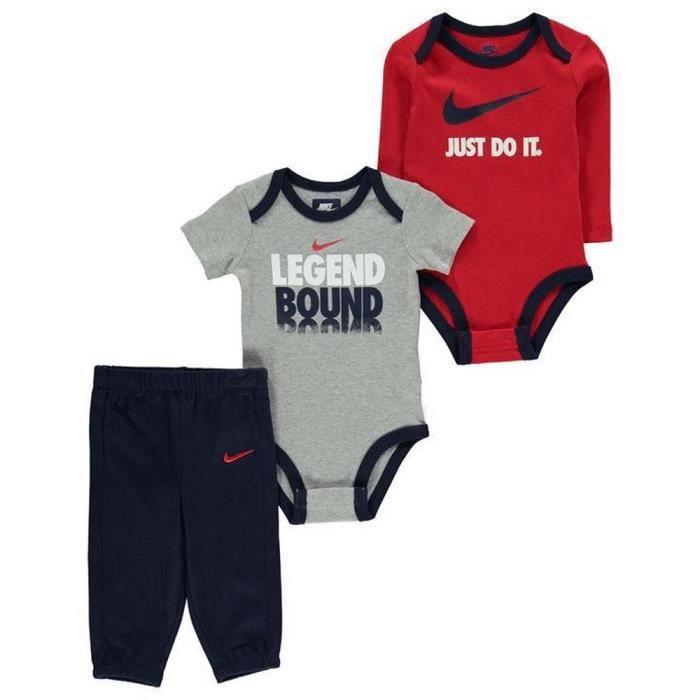Ensemble Vêtements Naissance Nike Bébé Garcon Bodys et Jogging 9-12 ... 9063212c20f