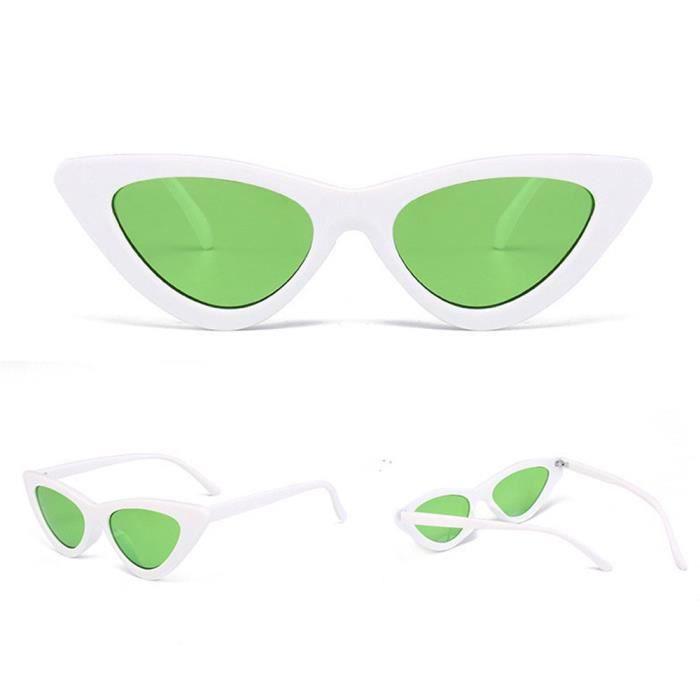 Deuxsuns®Femmes Fashion Cat Eye Shades lunettes de soleil UV intégré colorées lunettes@zf855