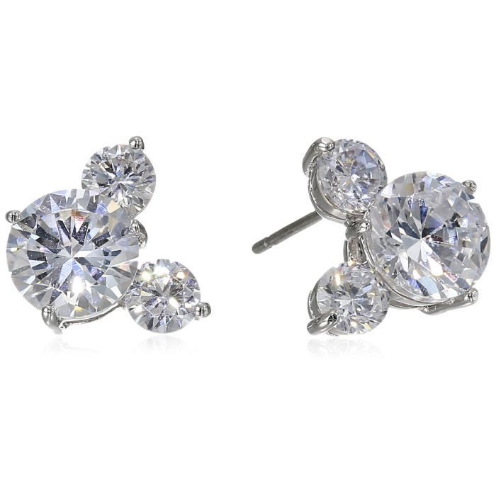 Disney Mickey Large Cubic Zirconia Stud Earrings PQ7Z4