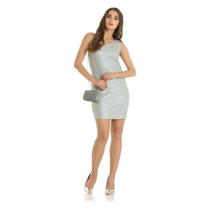 Womens One-shoulder Dress NBPGY Taille-40