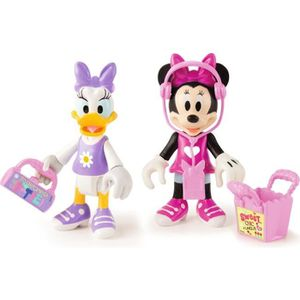 MICKEY ROADSTER RACERS Pack de 2 Figurines Minnie & Daisy - Shopping
