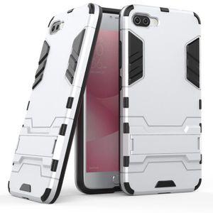 COQUE - BUMPER Coque pour Asus Zenfone 4 Max Plus ZC554KL (Argent ...
