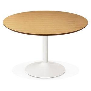 plateau de table rond 120 achat vente plateau de table rond 120 pas cher cdiscount. Black Bedroom Furniture Sets. Home Design Ideas