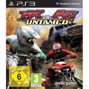 JEU PS3 MX VS. ATV-UNTAMED (PS3) [JEU PS3]