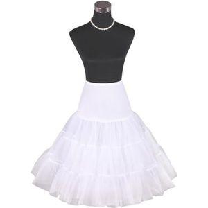 20f52f4480a JUPE Jupon Années 50 vintage en Tulle Petticoat