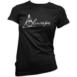 T-SHIRT T-shirt Femme Always Script - Harry Potter 100% co