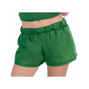 819c603559d BOXER - SHORTY Les femmes de taille élastique vert pour l esprit