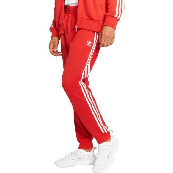 ... Adidas originals Homme Pantalons   Shorts   Jogging Sst Tp Rouge Rouge  - Achat   Vente ... d7a40f9684a
