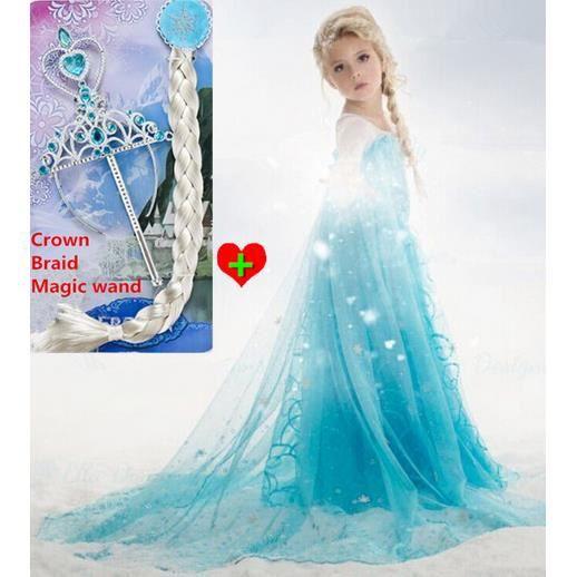 D guisement reine des neiges accessoires 4 5 ans achat vente d guisement panoplie - Jeux gratuit la reine des neige ...