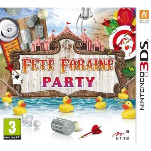 FETE FORAINE PARTY [JEU 3DS]