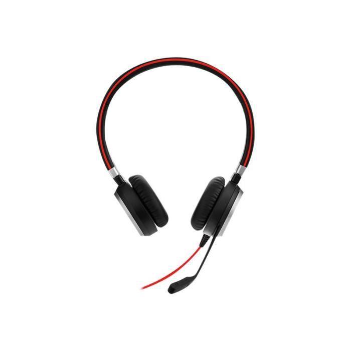Jabra Evolve 40 Ms Stereo Casque Sur-oreille Filaire