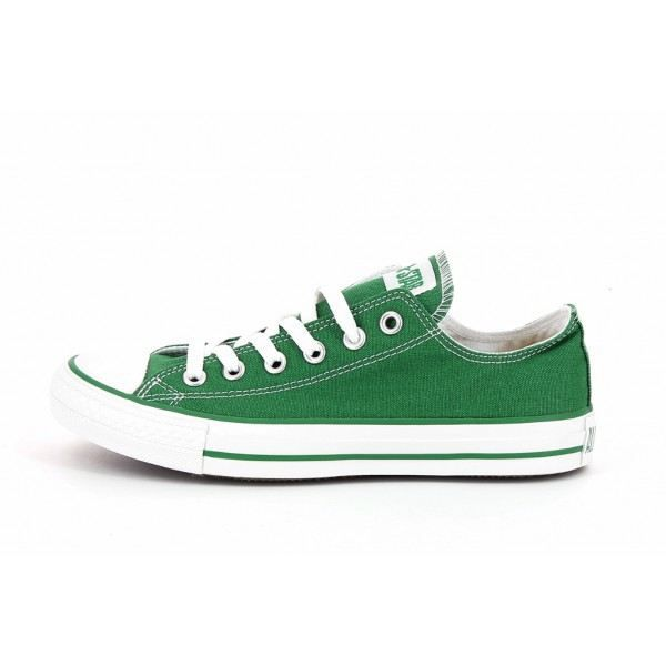 converse basse femme vert