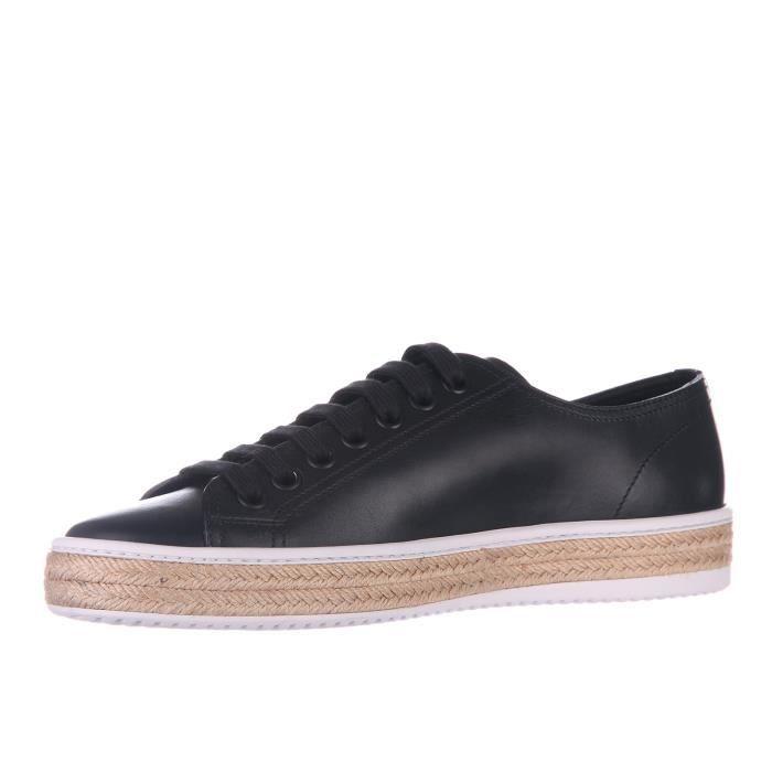 BASKET Chaussures baskets sneakers homme en cuir calf Pra