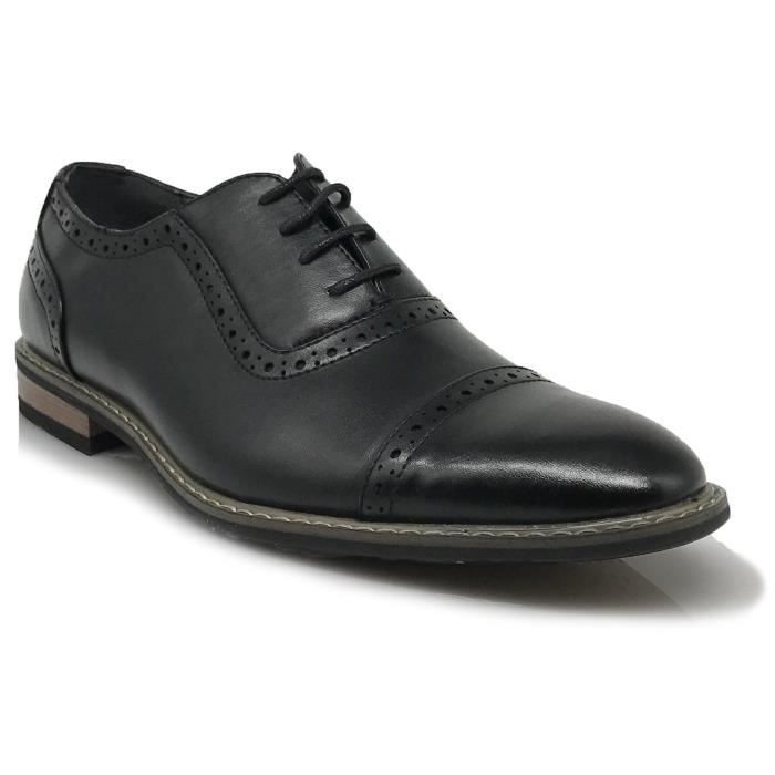 Modern Shoes S6SU5 Lace Designer Italy Dress 2 2 Tone Oxfords Captoe Up 1 Taille 39 Shoes Wingtip qwPwt4S