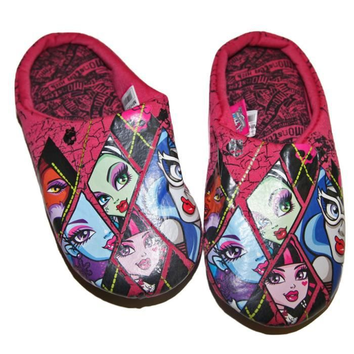 Chaussons Pantoufles Fille Confortable Monster Hig IWUGJI