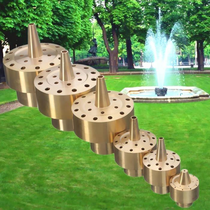 3-4\'\' Ajutages de fontaine Buse en laiton de pulvérisation d\'étang ...