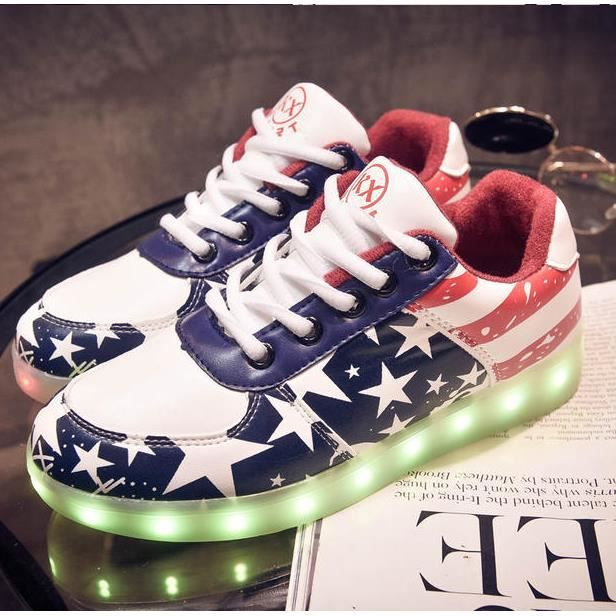 Chaussures LED allument Glow Sneakers