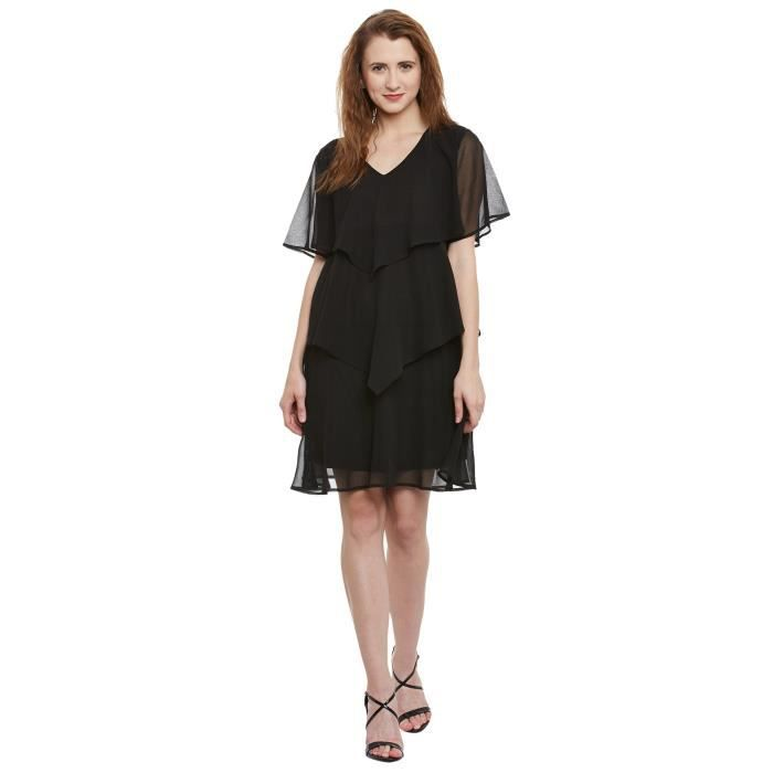 Womens Georgette A- Line Dress 1M9GB1 Taille-34