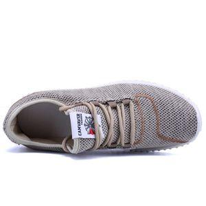 Chaussures Hommes Chaussures De Sport Confortables Et Souples Pour Homme LKG-XZ297Noir39 o2G3j1