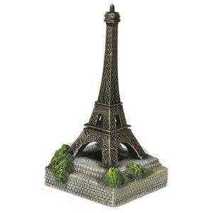 NOBBY Aqua déco Tour Eiffel - 108x108x208mm - Pour aquarium