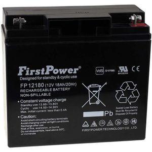 BATTERIE VÉHICULE Batterie gel-plomb FirstPower pour USV APC RBC7 12