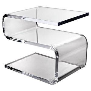 Table De Nuit Plexiglas table plexiglas - achat / vente pas cher