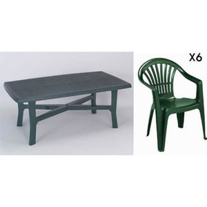 Table et chaise de jardin plastique - Achat / Vente Table et chaise ...