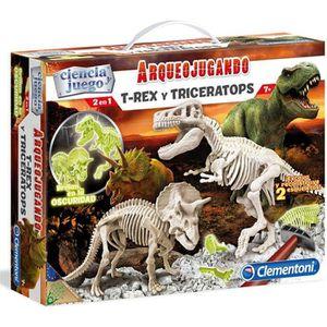 HISTOIRE - GEO Arqueojugando T-Rex et le fluor triceratops
