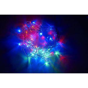 GUIRLANDE D'EXTÉRIEUR Guirlande de Noël 120 LED - 5 mm x 6 m - Multicolo