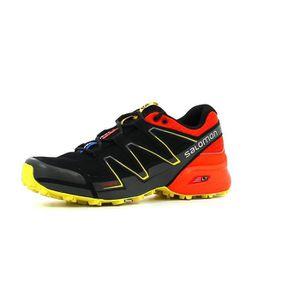 Homme Speedcross Vario 2 GTX Chaussures de Course à Pied Et Trail Running, Synthétique/Textile, Gris, Pointure: 44 2/3Salomon